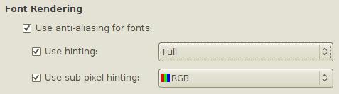 Improving Font Rendering in Ubuntu
